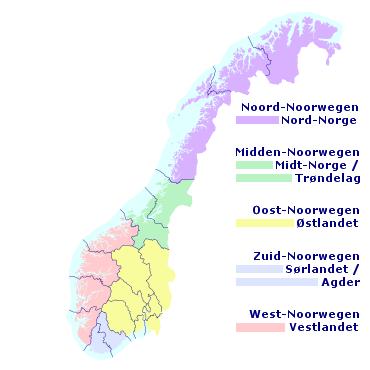 route zweden noorwegen