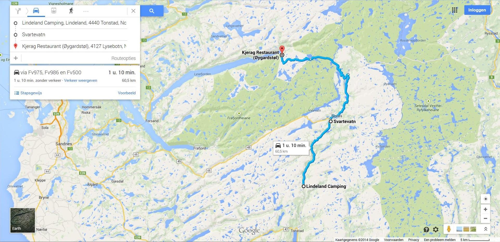 kjeragbolten kart Toelichting   Onze autovakanties in Noorwegen kjeragbolten kart